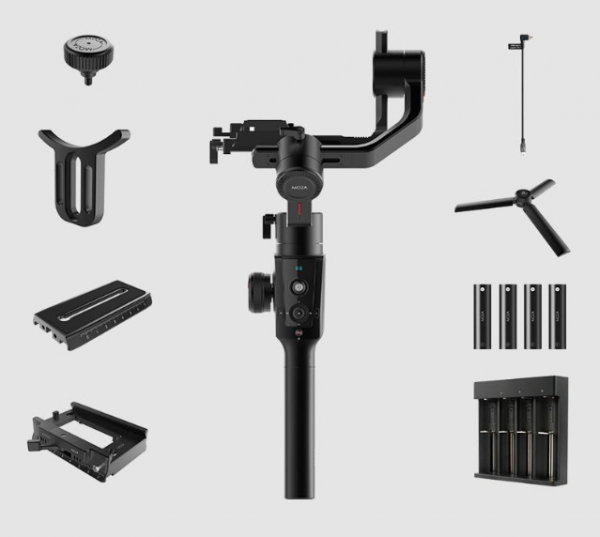 13 new accessories for the MOZA Air 2 Handheld Gimbal