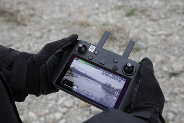 Using the DJI Smart Controller with gloves