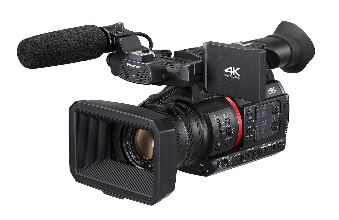 Panasonic Introduces Ag Cx350 4k Camcorder With 4k 10 Bit