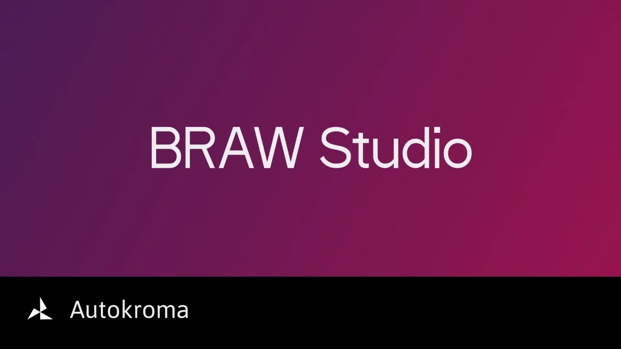 BRAW Studio - Premiere Pro Blackmagic RAW Native Importer - Newsshooter