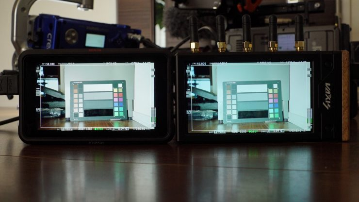 Comparing the Vaxis Storm Focus 058 to the Atomos Ninja V