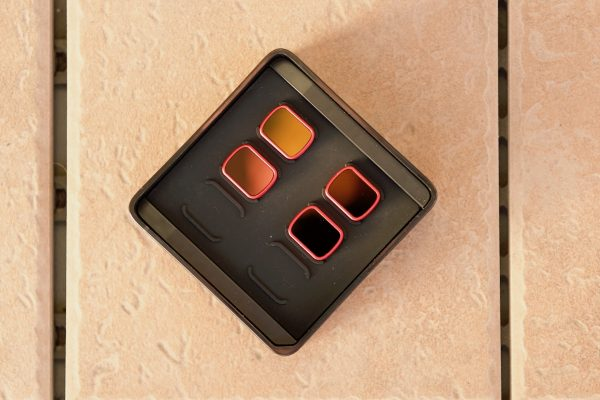 PGYTECH OSMO Pocket PRO ND/PL Filters in the magnetic case