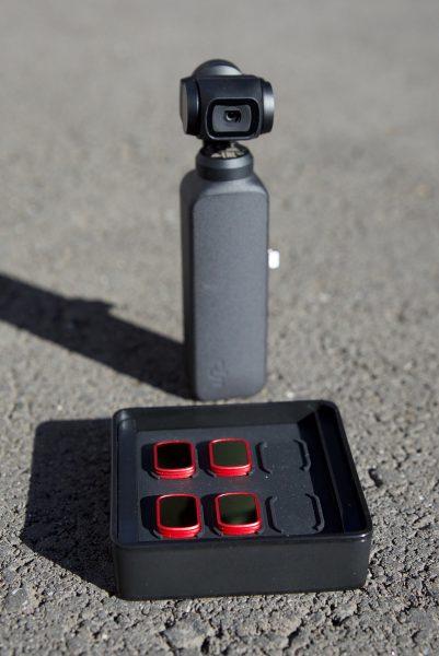 PGYTECH OSMO Pocket PRO ND/PL compact case