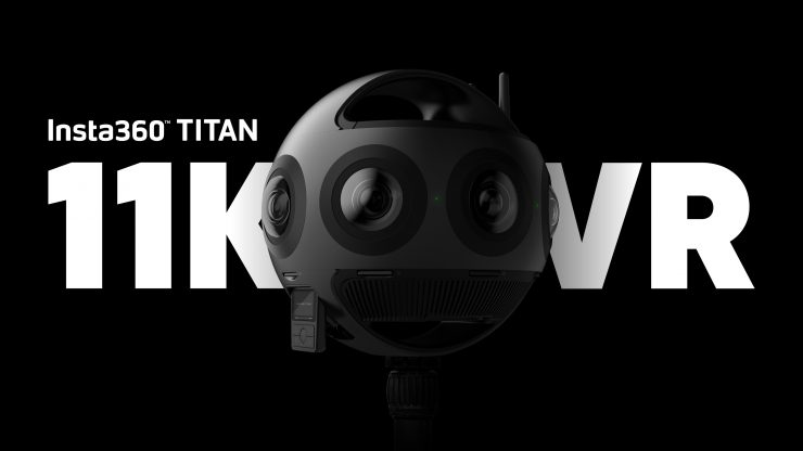 Reserve your Insta360 Titan camera today