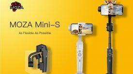 MOZA mini s smartphone gimbal banner