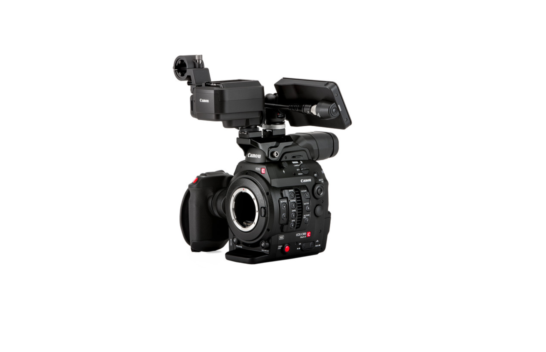 Canon C300 Mark II now available with the C200 touch screen