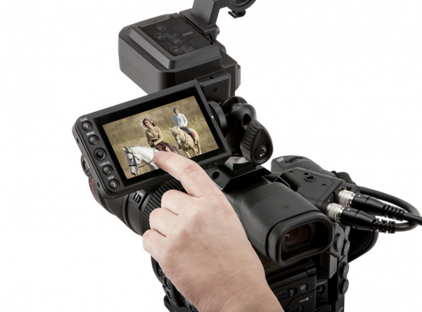 Canon C300 Mark II with Touch Focus Kit