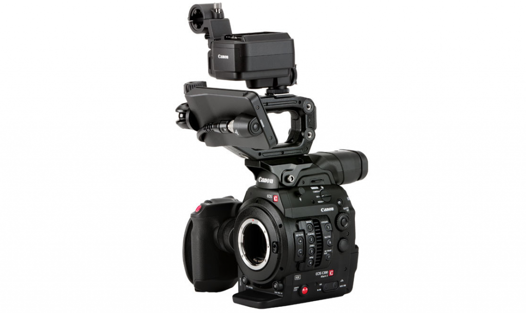 C300 Mark II with Touch Focus Kit