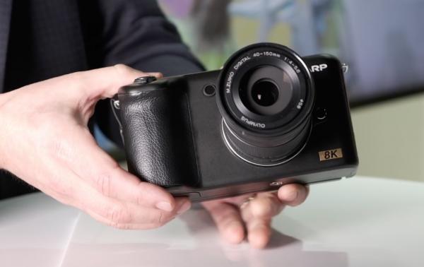 Sharp 8K Micro Four Thirds Camera