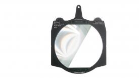"Lindsey Optics Brilliant² Tray Mount Rota-Split Filters for 4x5.65"" cine matte boxes"