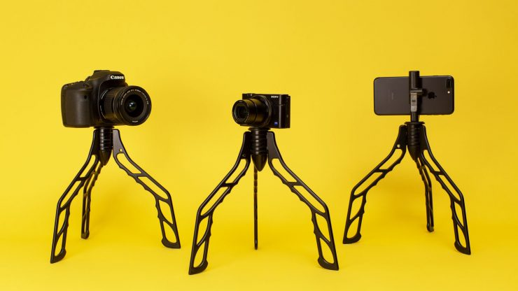 SwitchPod tripod for vloggers