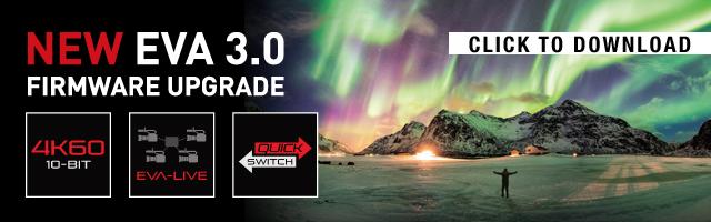 Panasonic EVA-1 3 0 Firmware Update adds 4K60P & H 265