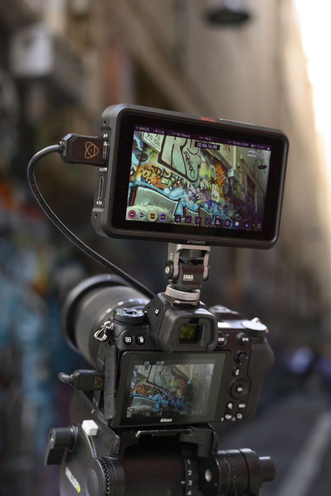 Atomos ProRes RAW recording from the Nikon Z7 and Z6