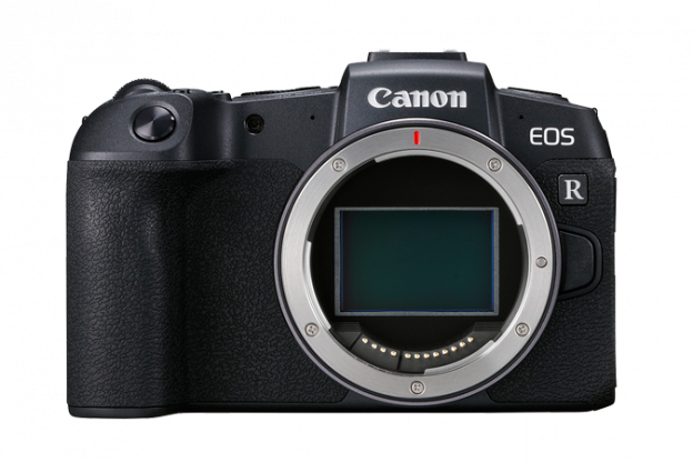 EOS RP without lens Front angle