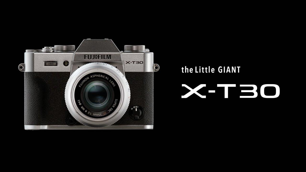 Fujifilm X T30 Quot Little Giant Quot Camera Amp Xf 16mm F2 8