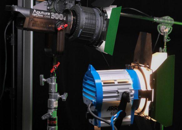 Fresnel 2X Side by side ARRI 650 wide 2