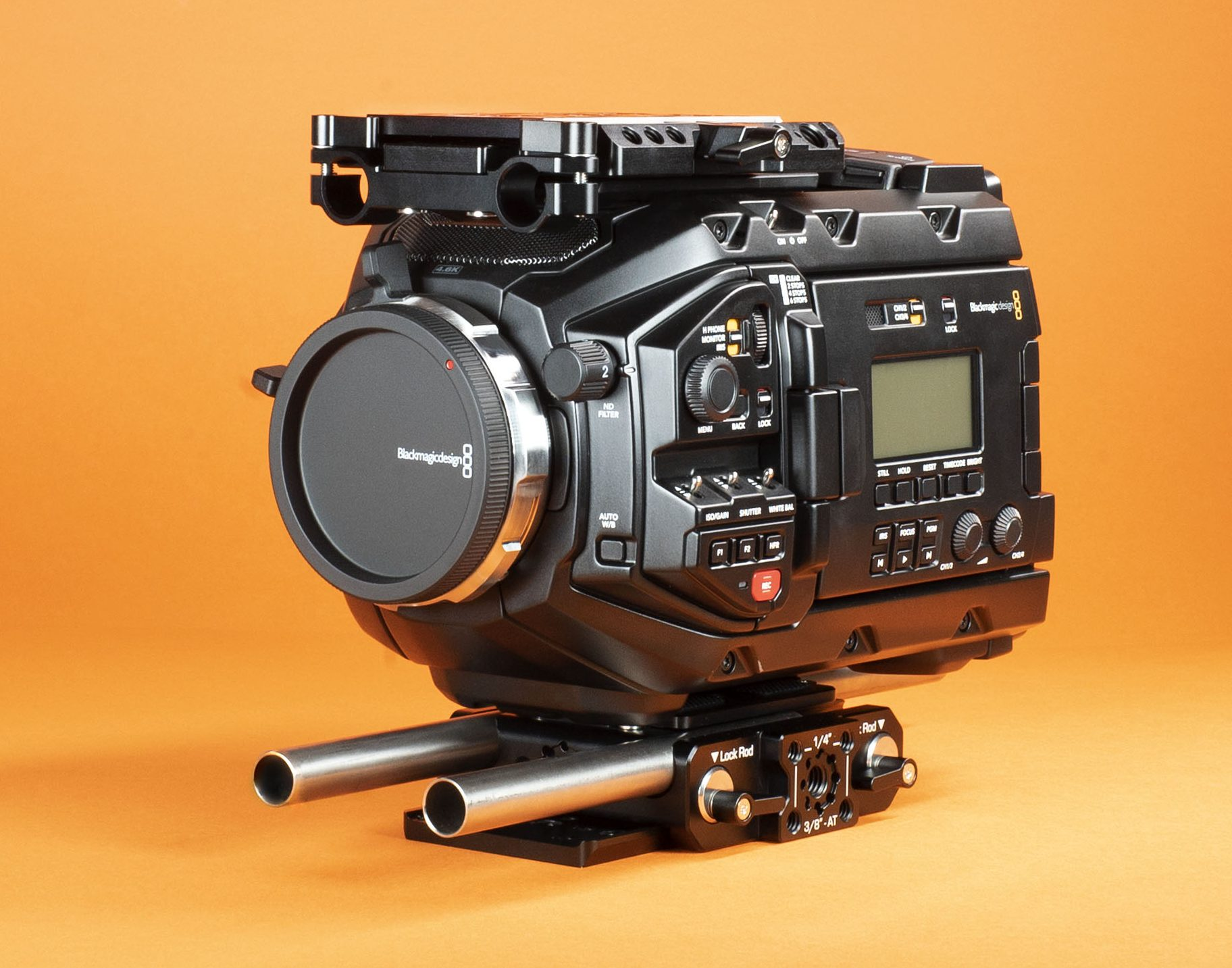 Left Field Sliding Camera Kit for Blackmagic Design Ursa Mini Pro