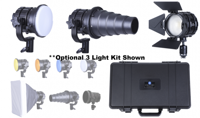 Pocket Cannon Mini 3 Light Kit