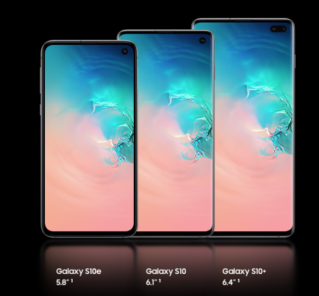Samsung Galaxy S10 announced