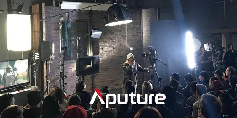 Free Aputure FLEX Lighting Masterclass - Sydney & Melbourne, Australia