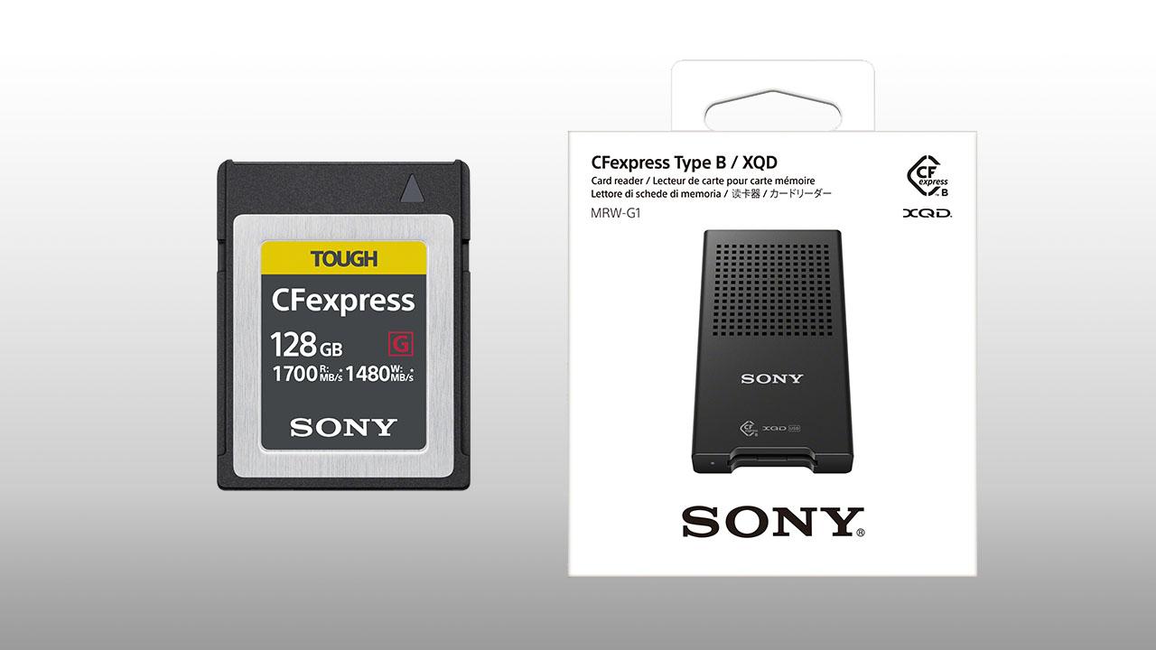 sony develops cfexpress type b 1700mb  s  u0026 1480mb  s read