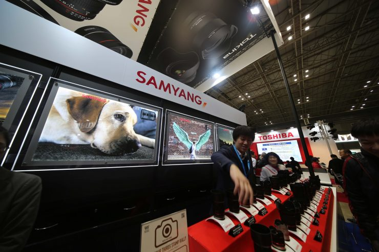Hands-on with the Samyang XP 10mm f/3.5 at CP+ 2019
