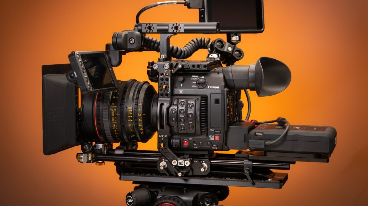 Bright Tangerine C200 Left Field Cage Cinema setup 2