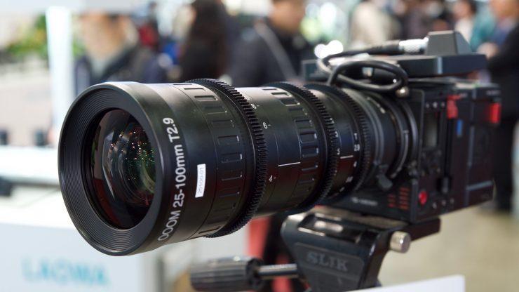 Laowa 25-100mm T2.9 OOOM cinema lens update & footage