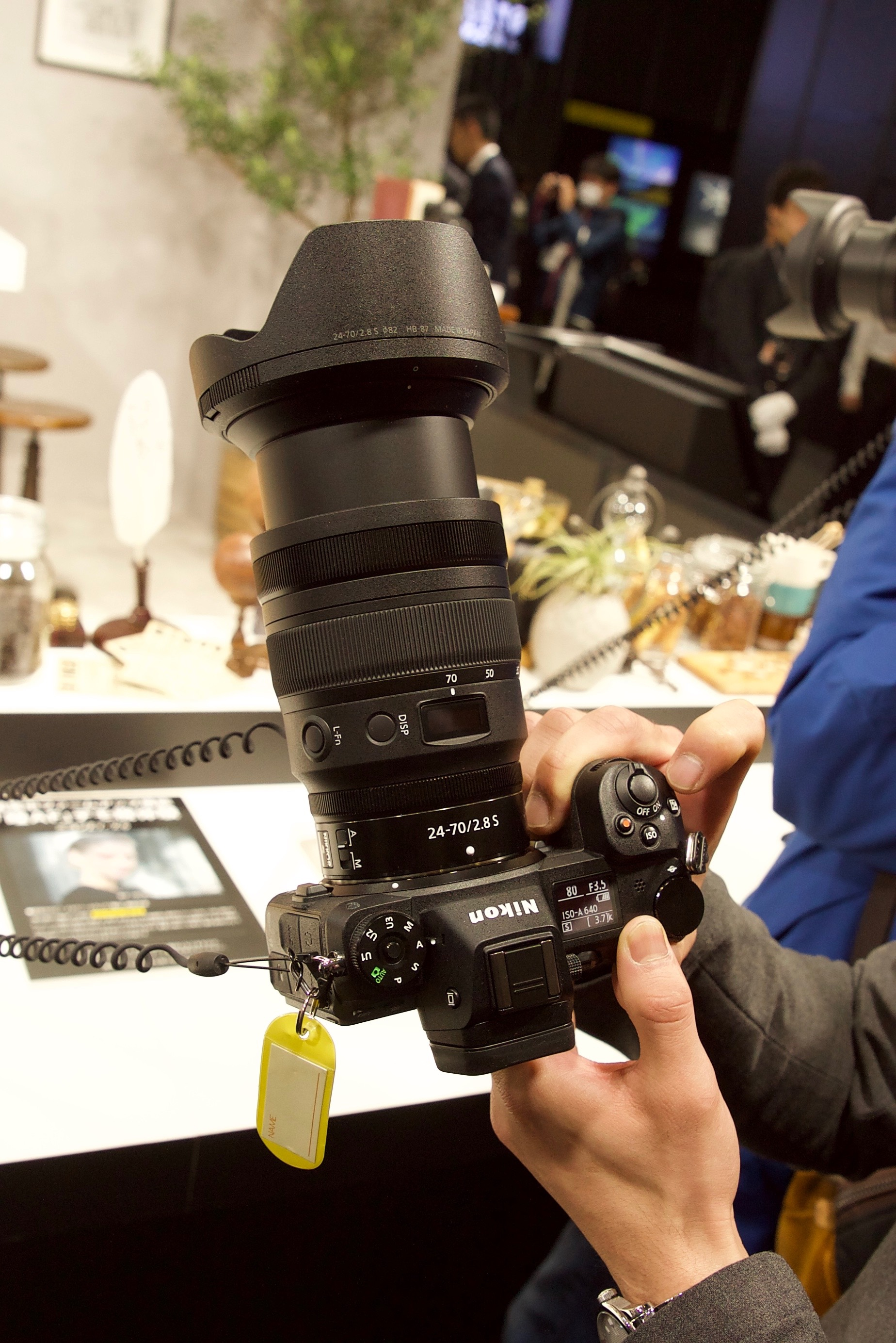 NIKKOR Z 14-30mm f/4 S & 24-70mm f/2.8 S lenses at CP+ 2019