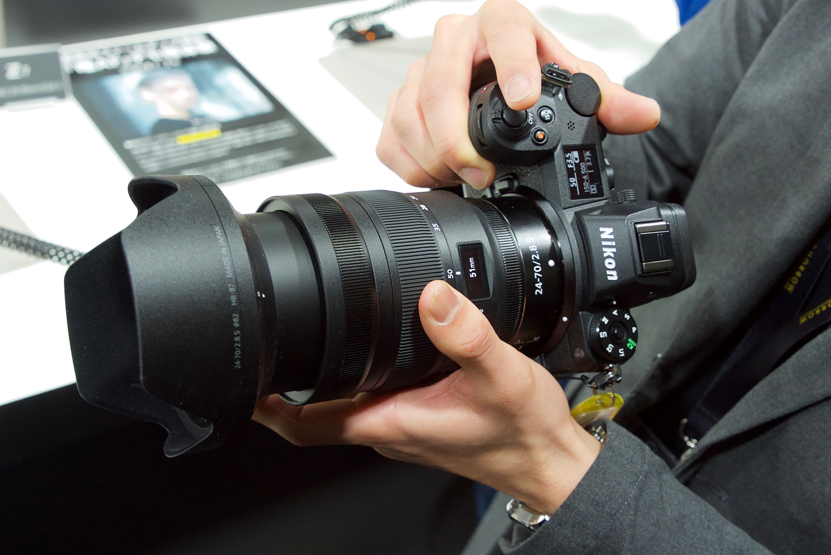 First Look at the new Eye AF for the Nikon Z6 & Z7