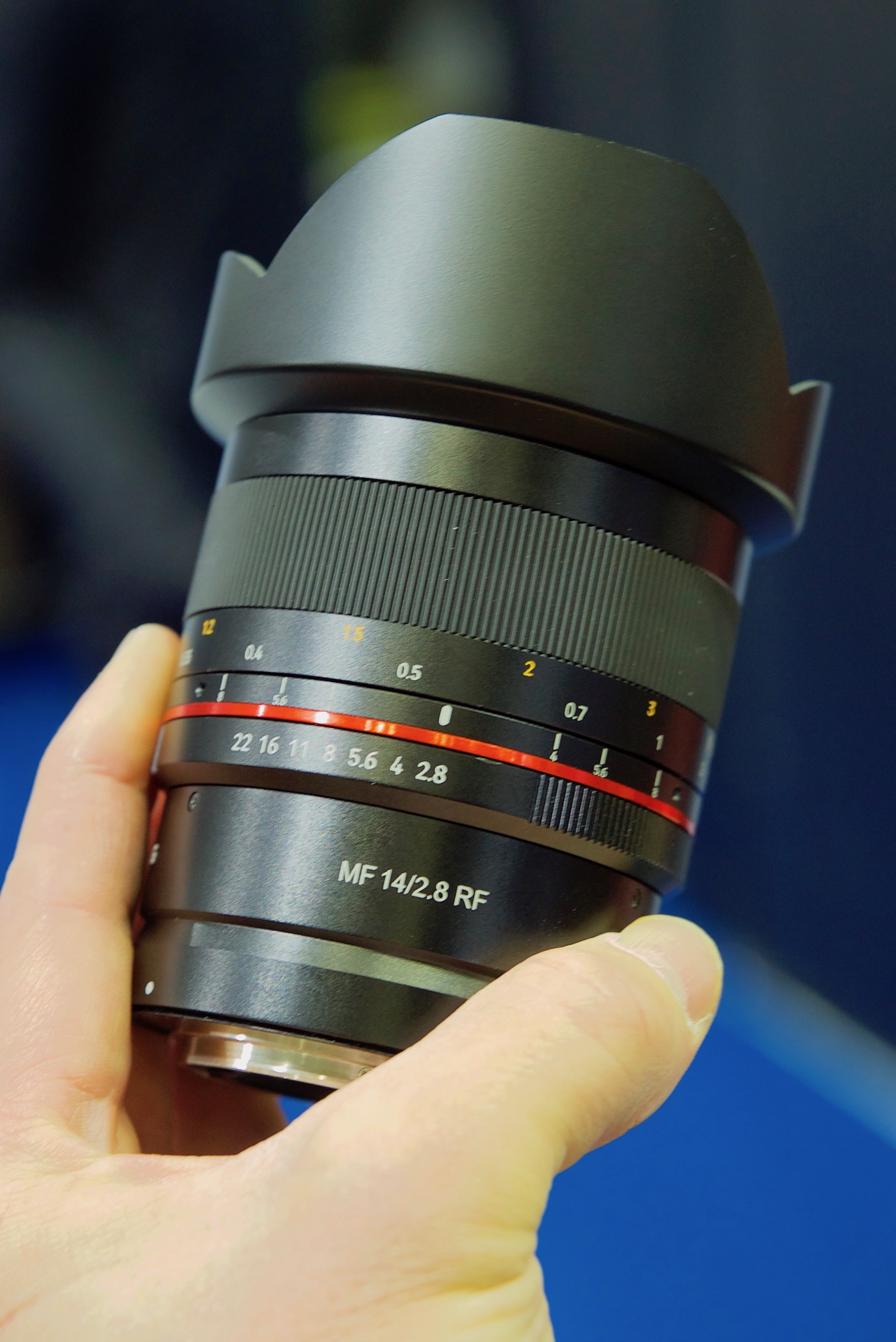 The New F1 Canna Cannova Is Set To Take Cannas To A New: Hands-on With The Samyang 85mm F1.4 & 14mm F2.8 Canon RF