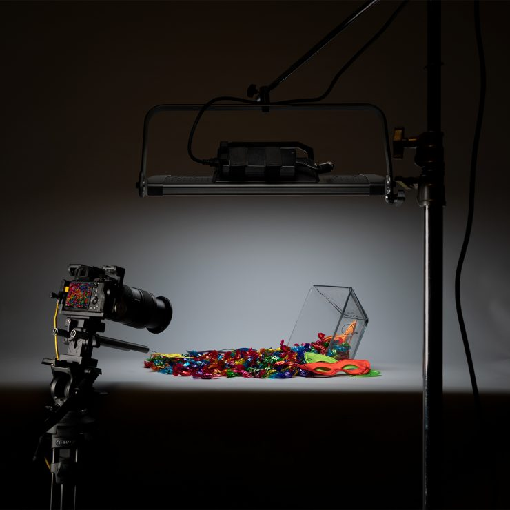 Ikan ONYX Digital Color LED 1 X 2 Soft Light W/Tune-able RGB Color Control