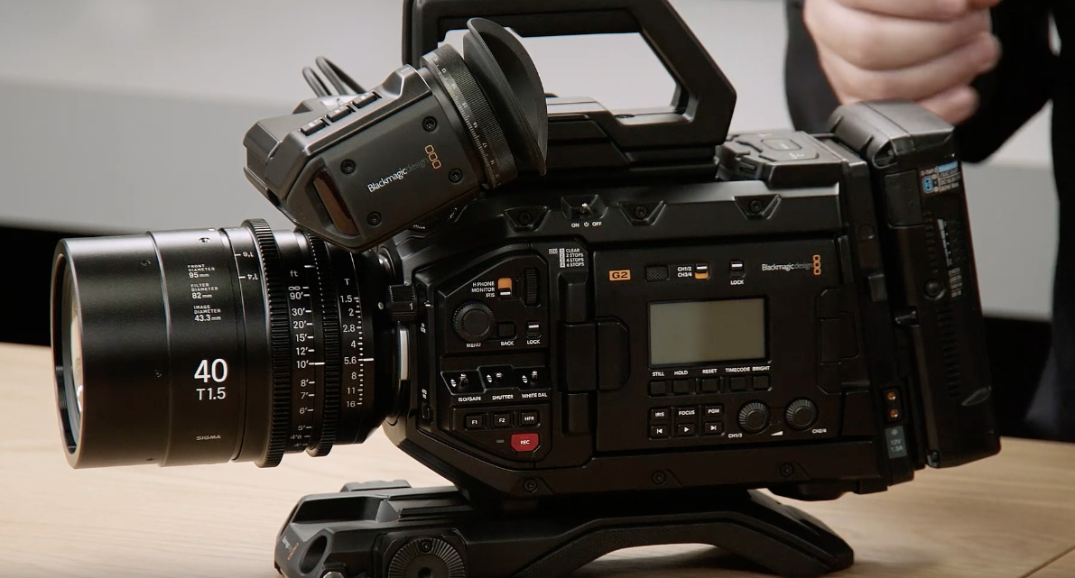Blackmagic Design Announces Ursa Mini Pro 4 6k G2 Newsshooter