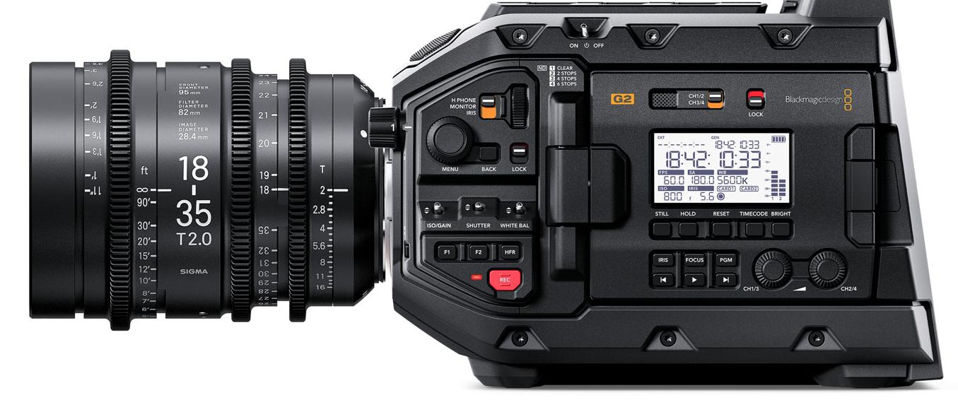 Blackmagic Design announces URSA Mini Pro 4.6K G2