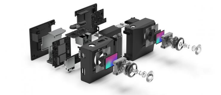 Insta360 EVO - Foldable 360/180° VR Camera