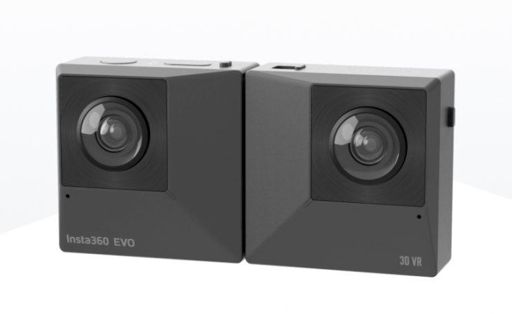 Insta360 EVO - Foldable 360/180° VR Camera