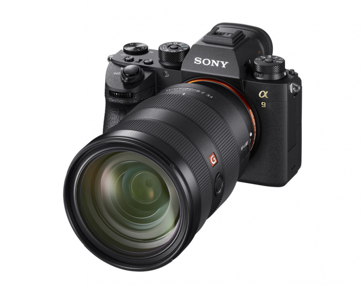 Ver.5.00 Firmware released for the Sony a9