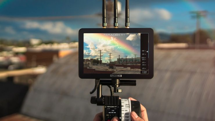 Teradek & SmallHD firmware enables the world's first lens data overlays directly on a screen