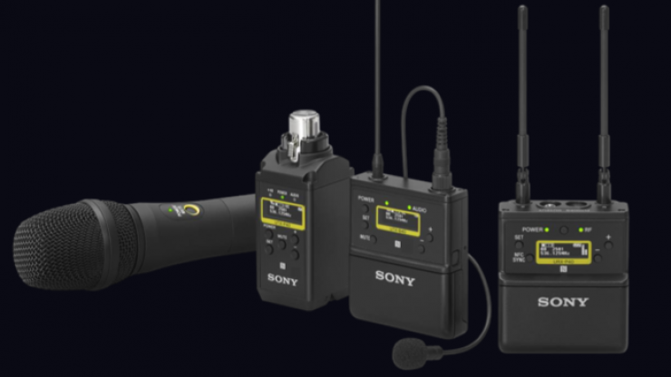 Sony announces new UWP-D wireless microphone series