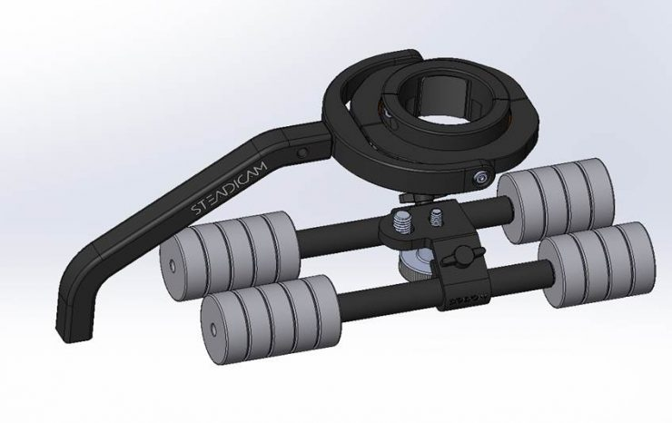 Tiffen Steadimate-S for single handed gimbals