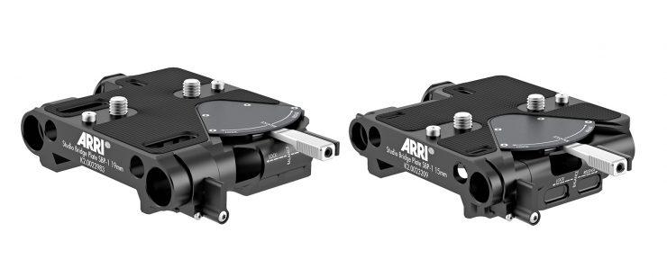 ARRI Bottom Dovetail Plates & Studio Bridge Plate SBP-1