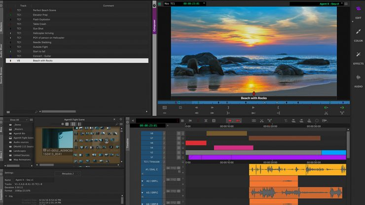 2a New Interface Media Composer Video Editing Software