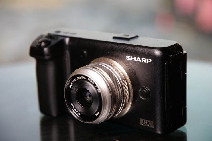 We take Sharp's upcoming 8K Micro Four Thirds camera for a spin