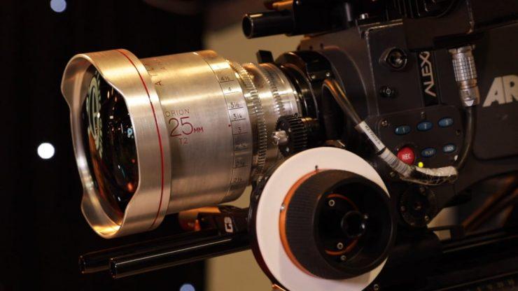 Atlas Lens Co LF Extender 25mm anamorphic prototype