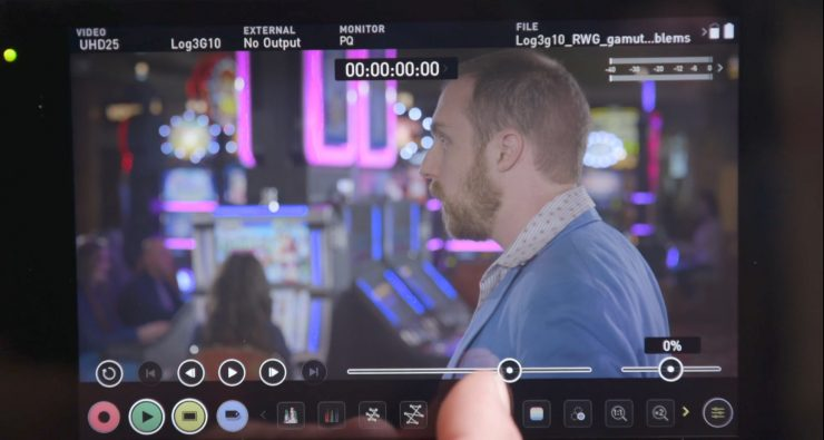 Atomos Shogun 7 interface