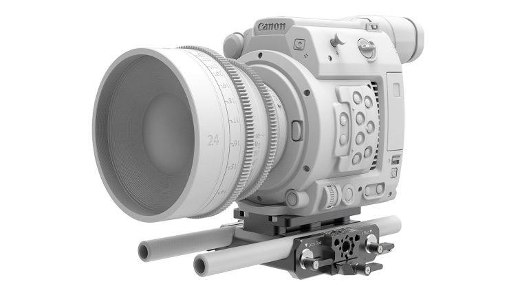 B4005 0001 Canon C200 LWS sliding Baseplate 6