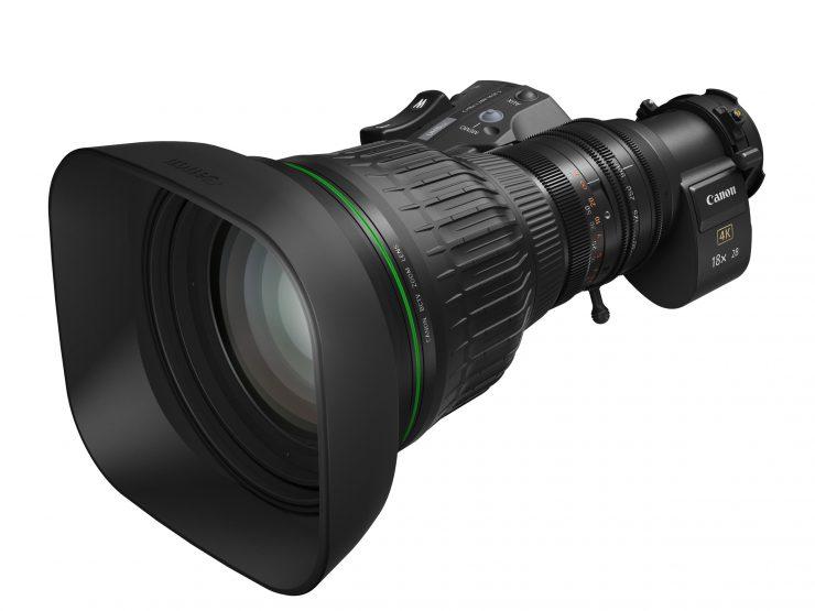 Canon CJ183x28B 4K broadcast zoom lens