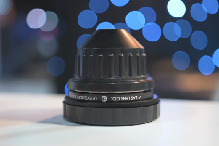 Atlas Lens Co LF Extender  announced & 25mm anamorphic prototype
