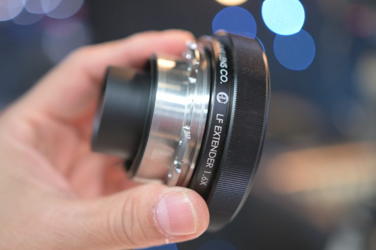 Atlas Lens Co LF Extender  announced & 25mm anamorphic prototype