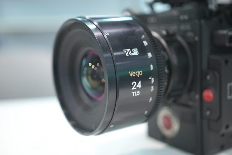 TLS Vega full frame Cine Primes